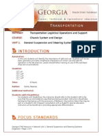 CSD 1 UNIT PLAN General Suspension and Steering Systems Diagnosis CA