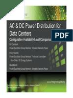 BICSI Power Distribution