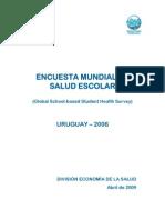 encuesta mundial de salud escolar