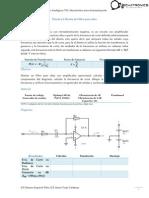 Práctica 2 Diseño de Filtro Paso Altas