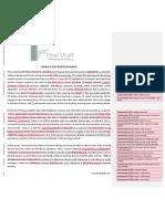 Final Draft Proofreading Sample