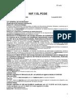 NIFF Y EL PCGE