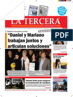 Diario La Tercera 28.09.2015