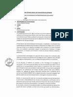 Informe Tecnico de Evaluacion (Interoperabilidad)