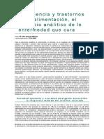 Trastornos Alimenticios. M.P. Quiroga