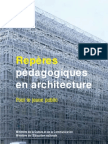 Reperes Pedagogiques en Architecture