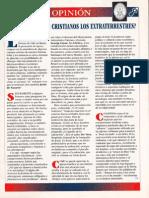 Extraterrestres ¿Seran Cristianos - Opinion R-006 Nº097 - Mas Alla de La Ciencia - Vicufo2