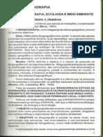 Fundamentos Básicos Da Biogeografia, História Da Biogeografia, Evolução Dos Estudos Biogeográficos