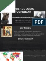 TUBERCULOSIS-CIRUGÍA DE TORAX Y CARDIOVASCULAR