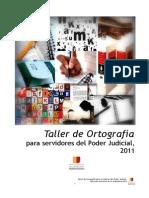 Material Educativo Taller de Ortografía