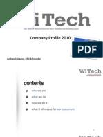 WiTech Company Profile (Rev EB) (20100208-1)