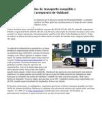 Opciones de traslados de transporte asequible y aparcamiento en el aeropuerto de Oakland