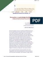 Descartes e a Psicologia Da Dúvida 01