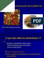 Engenharia de Alimentos - Aditivos e Legislação de Alimentos
