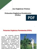 Substâncias Tóxica Orgânicas 2015