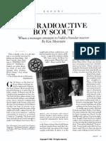 Silverstein Radioactive Boy Scout