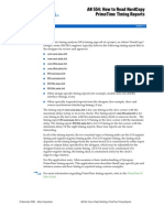 How to Read PT Report