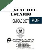Manual Del Módulo de Agua Potable de CivilCAD