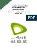 A study on Organizational Management and organizational analysis