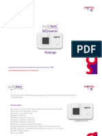 Plan Internet Móvil Empresarial 4G LTE 3GB - Julio 2015