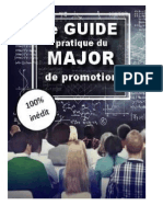Comment être major de promo