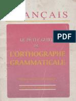 Le Petit Orthographe Grammaticale