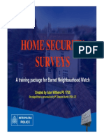 home security training nhw presentation part 1