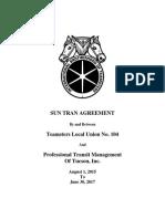 Sun Tran contract