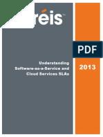 Understanding SaaS and Cloud Serivces SLAs