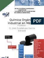 Química Orgánica Industrial en México JOSE GGE