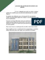 Introdução Ao Processo de Construção de Móveis Com Pallets