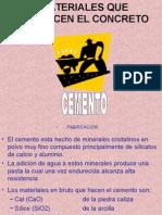 Clase Materiales Y Componentes del CONCRETO
