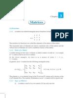 Matrices Ncert