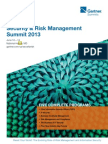 Gartner Security and Risk Mgmnt Summit 2013