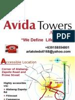 AVIDA TOWERS ALABANG