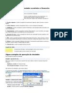 Financas Projecao Valuation - Original