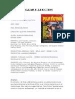 Análisis de la película Pulp Fiction