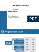 Library 2016 Budget - Presentation to Council