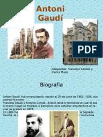 Presentación Antoni Gaudi