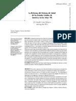 2.La Reforma del Sistema de Salud de los Estados Unidos de America.pdf