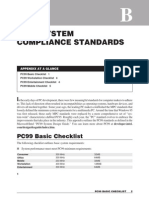 Pc99 System Compliance Standards