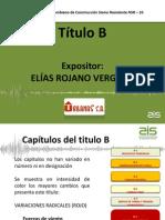 TÍTULO B - NSR 10