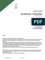 UPEI Calendar