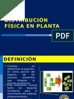 DISTRIBUCIÓN FÍSICA EN PLANTA