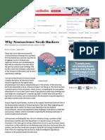Zz Why Neuroscience Needs Hackers - Scientific American