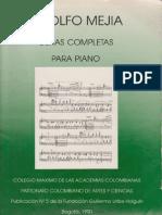 78051846 Adolfo Mejia Obras Completas Para Piano