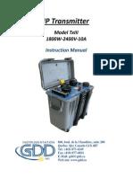 Manual_TxIII_1800W Insrumento de IP