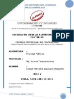 Operaciones de Mercado Abierto Del BCRP