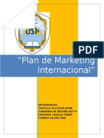 Plan de Marketing Internacional Del Cafe