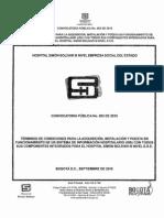 Terminos de Referencia Contratacion HIS 20150928 2015c003